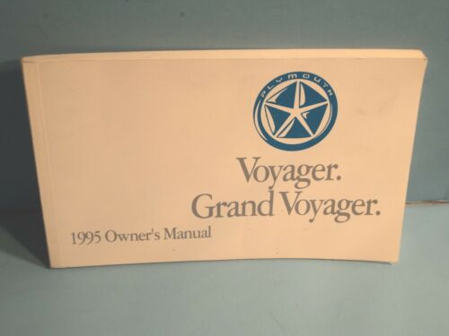 95 1995 Plymouth Voyager//Grand Voyager owners manual