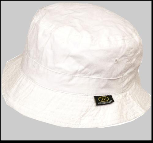 Highlander Premium Sun Hat Sunhat Summer Lightweight Cotton wide Brim White 63b7fdc6bd7