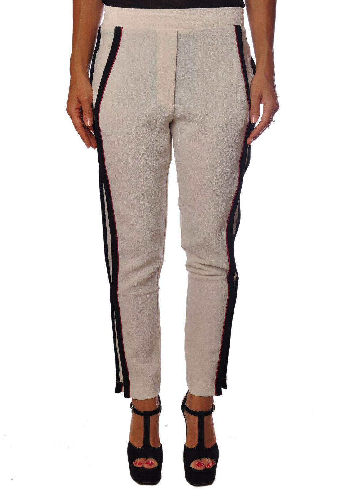 8pm  -  Pants - Female - Weiß - 100124A183849