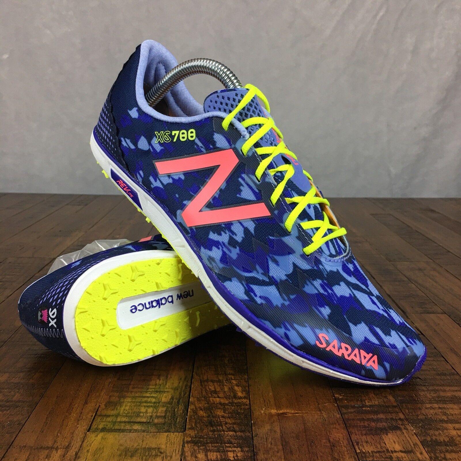 New Balance XC700 v5 Track Shoes Spikes Key Purple WXCS700G Womens Size 9.5
