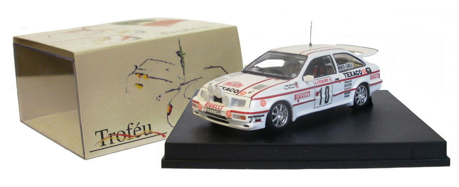 Trofeu 120 Ford Sierra Cosworth Rally de Monte Cochelo 1987-K Grundel 1 43 Escala