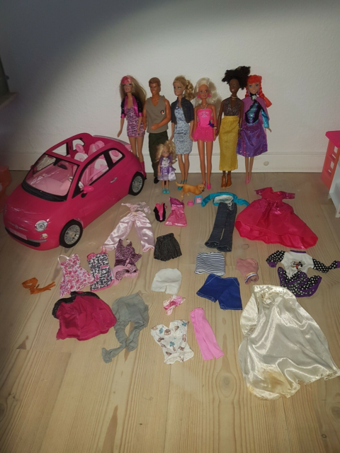 Barbie, Barbie start pakke, Stor samling Barbie…