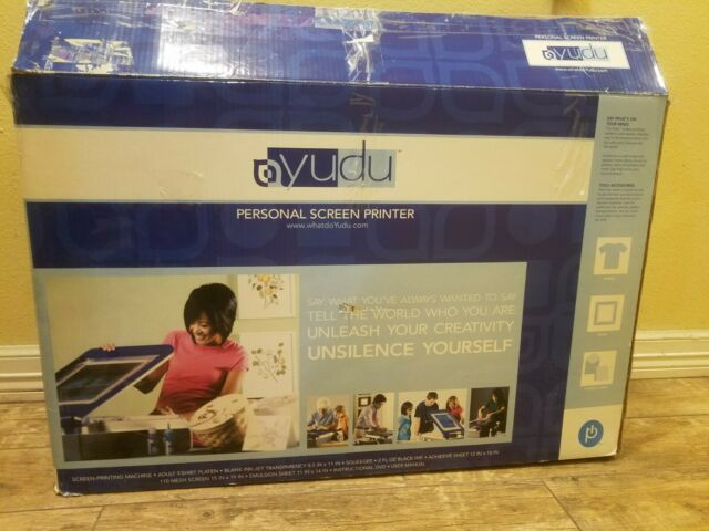 YUDU Personal SCREEN PRINTER PRINTING MACHINE | eBay