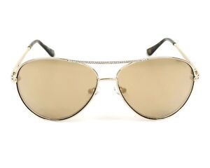 NWT Guess Sunglasses GU 7470-S 32G Gold   Mirror Brown 60 mm GU7470S ... 0348d6ef35f7