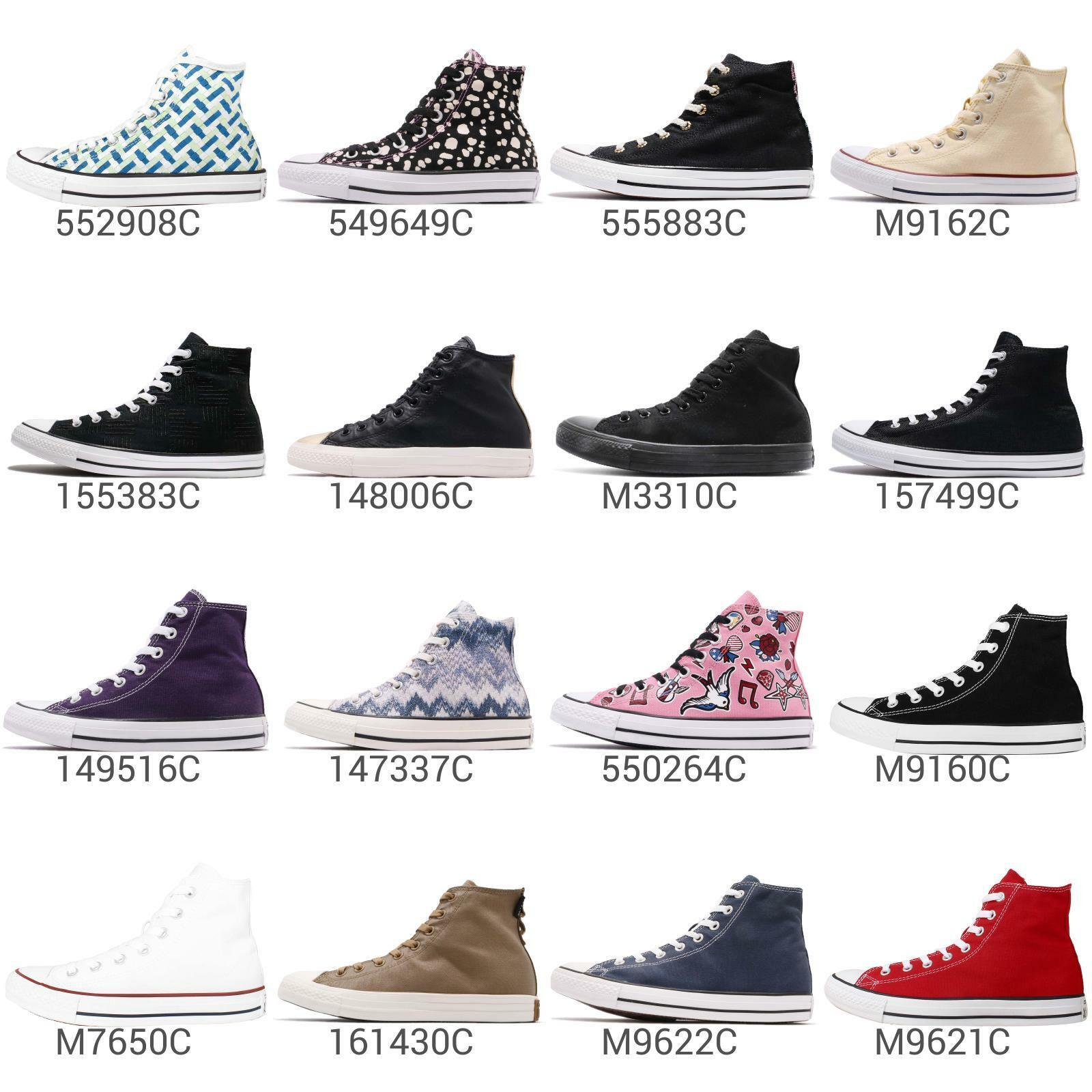 Converse Chuck Taylor All Star Hommes femmes High Hi Classic chaussures paniers Pick 1