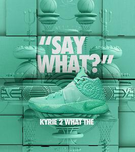 Nike-Kyrie-2-What-The-Green-Glow-Edition-Size-12-914681-300-Jordan-Kobe