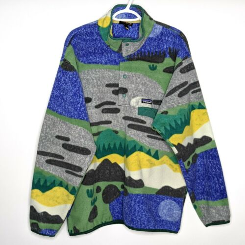 Patagonia Hi Country Snap T Printed Fleece Pullove