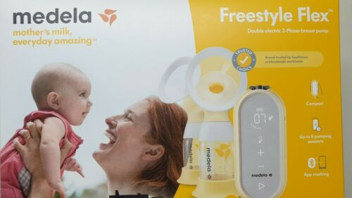 Medela freestyle flex Double Electric 2-Phase Digital Breast Pump    NeW In Box