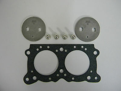 W//.093 Bypass Holley 1009-326 Throttle Plate 1-3//4