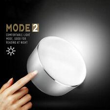 LED Touch Bedside Lamp Light Bed Side Lamps 2 USB Table Desk