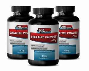 Pre-Post-Workout-Creatine-Monohydrate-Powder-100g-Exercise-Energy-Pills-3B