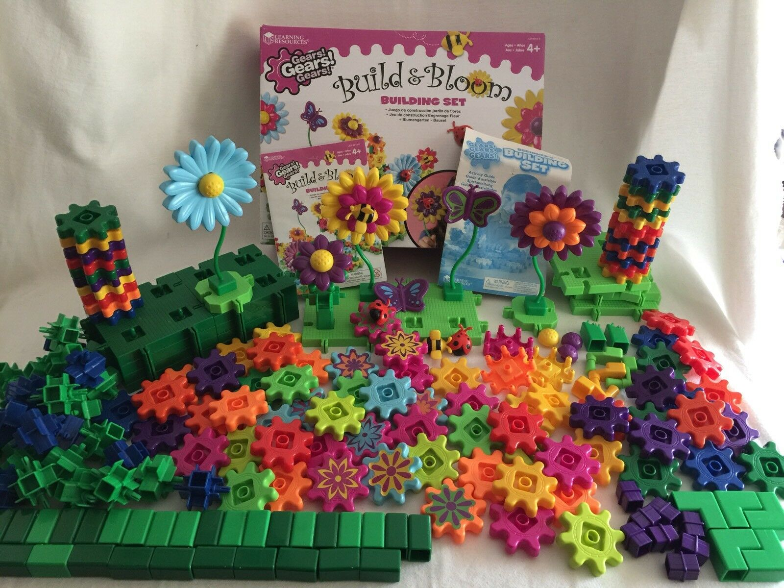 Gears  Gears  Gears  Build & Bloom & Beginner's Building Set Learning Resources