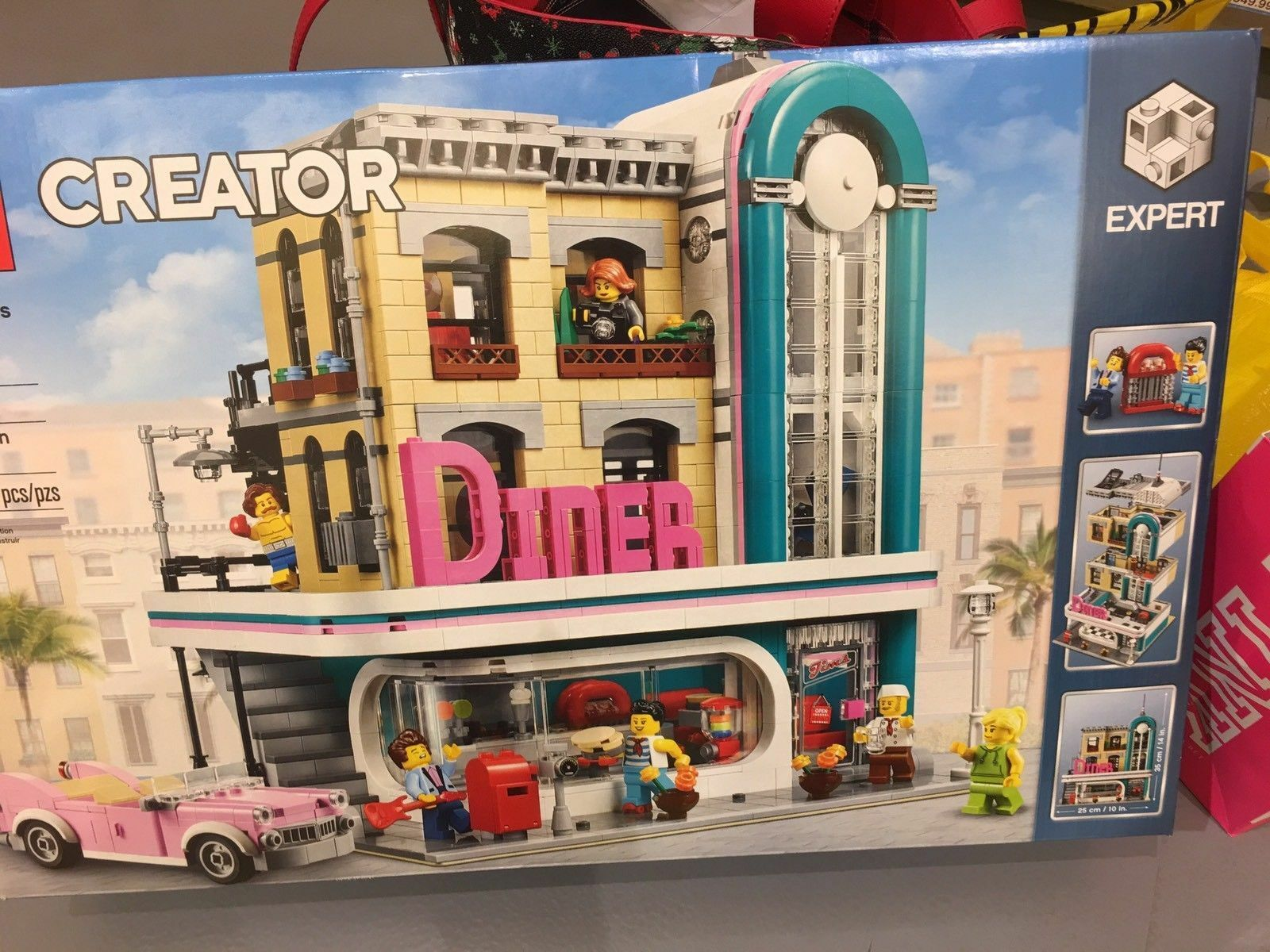 LEGO 10260 10260 10260 Creator Expert Downtown Diner IN-HAND