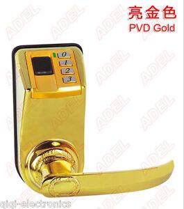Adel3398 Biometric Fingerprint Mechanical Key Password