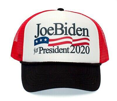 Joe Biden for President 2020 Truckers Hat Cap Logo Printed Democratic Party USA