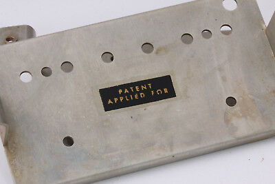 """PAF /""""PATENT APPLIED FOR/"""" Sticker real Silkscreen Vintage correct Set of 2"""