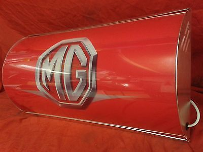 MG,b,gt,midget,sprite,metro,mgf,garage,light up,sign,mancave,vintage style,bl,2