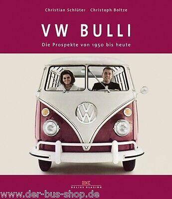VW Bus - Buch - Die Prospekte von 1950 bis heute - T1 T2 T3 T4 T5