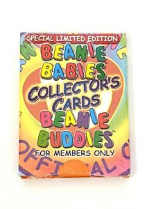 TY-Special-Limited-Edition-Beanie-Babies-Collectors-Cards-Beanie-Buddies-Sealed