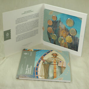 San Marino Kms Kursmünzensatz Münzen Coins Coinset 2018 Bu St 1 Cent