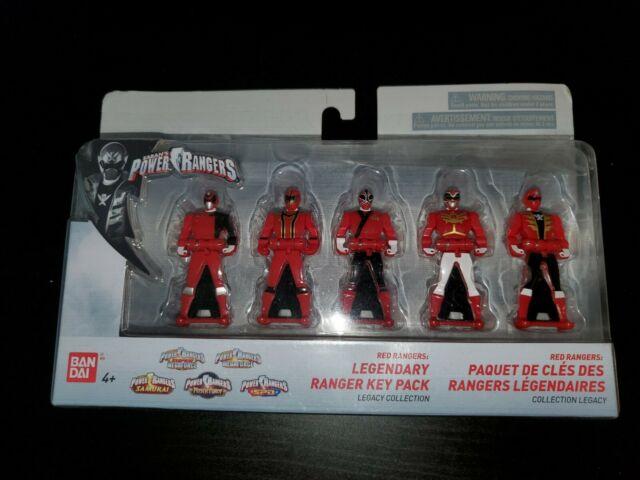 Power Rangers 25th Anniversary  Ranger Keys 5-Pack