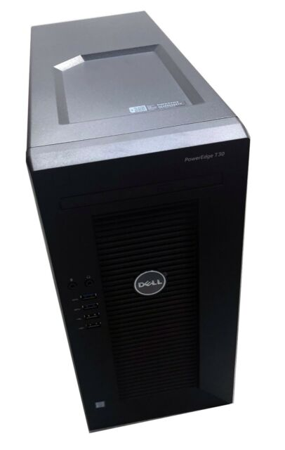 NEW Dell PowerEdge T30 Barebone Mini Tower Chassis w Motherboard, Power  Supply