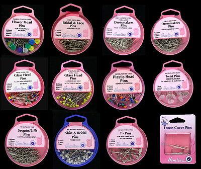 HEMLINE DRESSMAKING / CRAFTING PINS-MULTI LISTING-VARIOUS TYPES