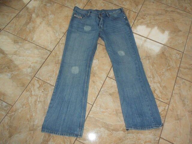 H8818 Diesel Zathan Jeans W36 L32 Mittelblau  Sehr gut