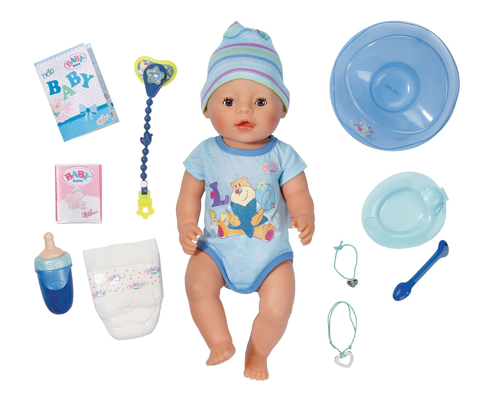 Baby Born Doll–Baby 30880 Interactive Doll–Baby Born Boy–9Functions and 11accessories 578e39