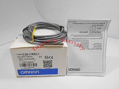 E2E-CR8C2 2M Omron NEW In Box Proximity Switch Sensor E2ECR8C2