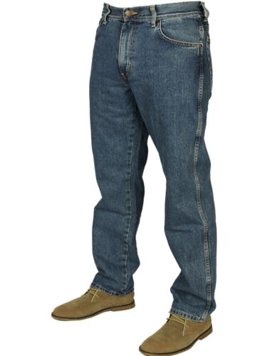 Stonewash Regular Wrangler To Leg Jeans Texas Fly Zip 50 Fit New Straight 30 x4gqFEWwwH