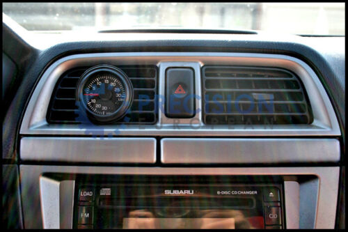 Dash Pillar Vent Pod for Boost Gauge for Subaru 01 02 03 04 WRX Impreza STI