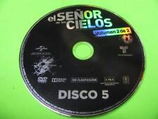 DVD EL SENOR DE LOS CIELOS VOLUME 2 DISC 5 ONLY