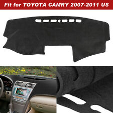 Hex Autoparts Dashboard Dash Board Cover Mat Dashmat Fit for Toyota Camry 2007-2011 Gray