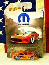 HOT WHEELS MOPAR 2013 DODGE VIPER SRT ORANGE #1//8 2018 Walmart Exclusive