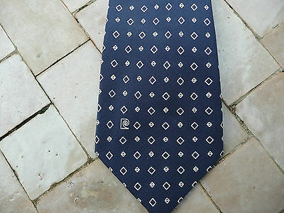 Bene Cravate Soie Vintage Pierre Cardin