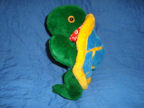 """DOMER TURTLE OFFICAL SKYDOME MASCOT PUPPET 11/"""" PLUSH"""