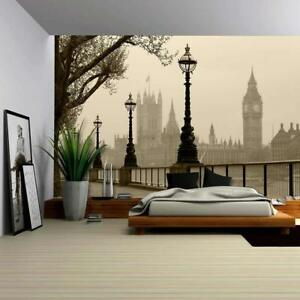 Wall26-Big-Ben-Houses-of-Parliament-London-in-Fog-CVS-100x144-inches