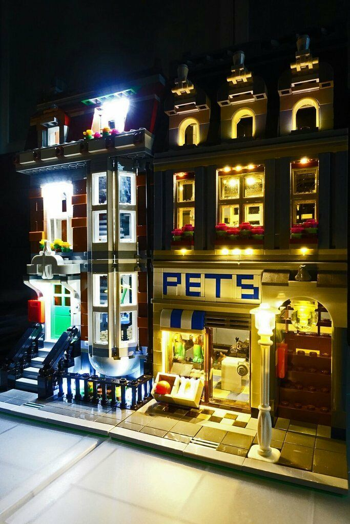 LED Lighting Kit for LEGO ® Pet Shop 10218