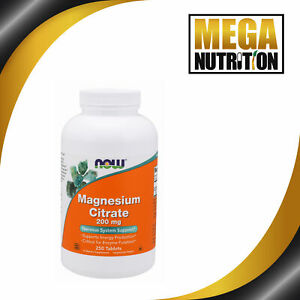 NOW-Foods-Magnesium-Citrate-200mg-250-Tablets-Cardiovascular-Nervous-System