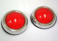 Flush Mount Led Round Street Rod Tail Lights Ford Chevy