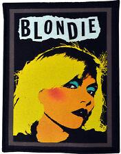 BLONDIE DEBBIE HARRY NEW WAVE AMERICAN PUNK CBGB ATOMIC BLACK COTTON PATCH A6+