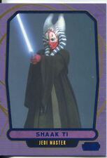Star Wars Galactic Files Blue Parallel #65 Shaak Ti