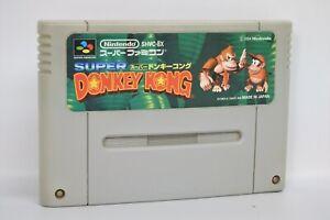 SUPER-DONKEY-KONG-1-Super-Famicom-Nintendo-Free-Shipping-sfc