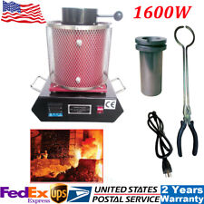 Gas Fired Jewelry Smelting Furnace Plans DIY Metal Scrap Gold Silver Melting