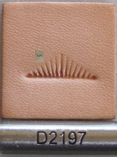 Craftool Pro Meander Border Stamp Tool D2197 Tandy Stamping Leather