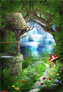 Fairy Tale Secret Wonderland Full Wall Mural Photo