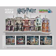 Harry Potter's Diagon Alley 3D Puzzle - 450 Pieces Jigsaw