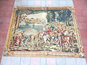 Tapisserie-Aubusson-tapestry-Aubusson-arazzo-antico-antiguo-Aubusson-tapiceria