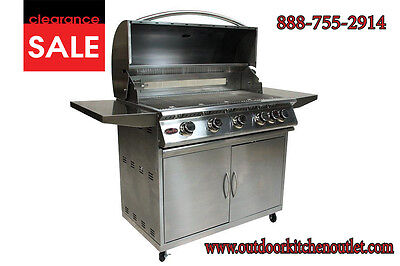 38 Stainless Steel Drop In Built In Barbecue Bbq Island Gas